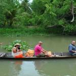 Boat trip in Ben Tre
