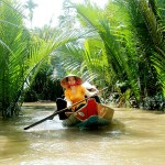 Boat trip to Tan Phong Island