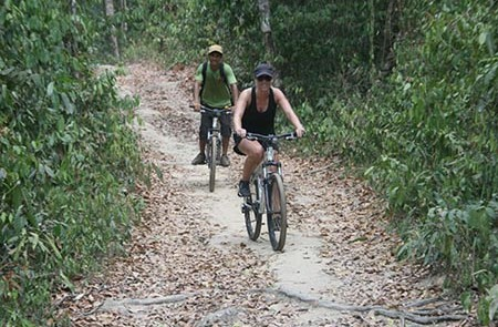 Mountain Phnom Kulen Forest Bike Day Trip