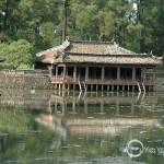 Tu Duc king's Tomb in Hue
