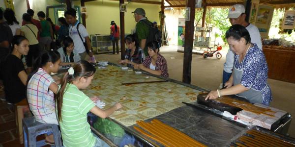 Visit coconut candy work shop in Mekong Delta
