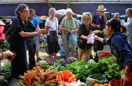 Visit local market