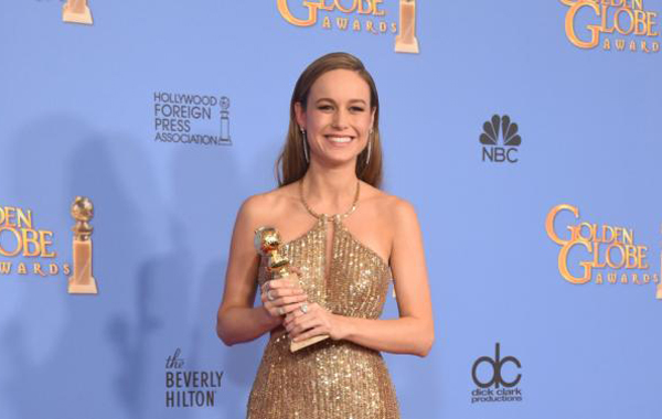 Brie Larson - The owner of the Oscar golden statue for the Best Actress this year for her role in Room