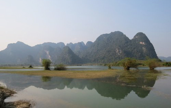 In the film, Yen Phu Lake will be the place where the Kong fight against giant monsters.