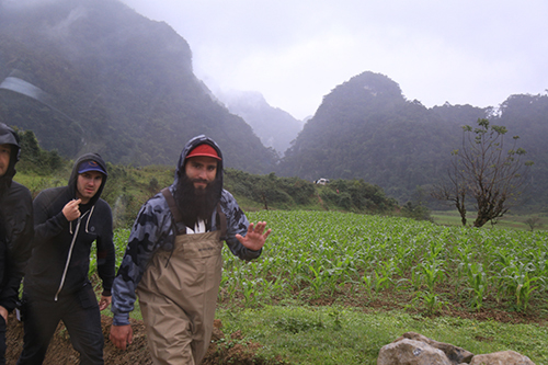 The director and the actors expressed their interest in the landscape, people and cuisine of Vietnam.