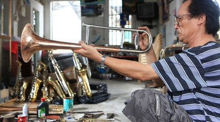 Traditional Trumpet Making Village