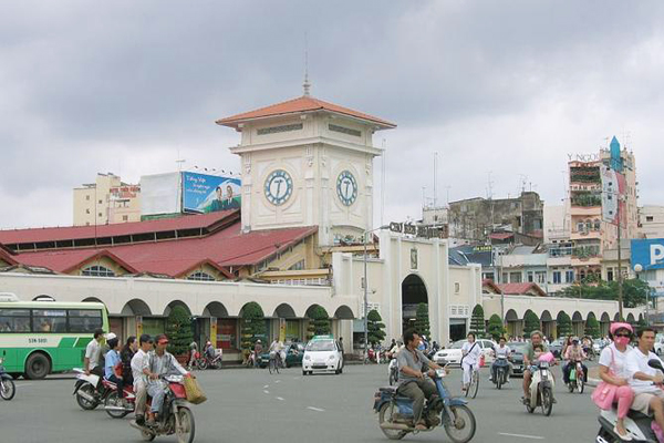 Visit Ben Thanh Market for last shopping experience in Saigon before departure Vietnam