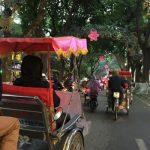 Cyclo tour around the old quarters of Hanoi