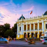 Hanoi Opera House - French Colonial Architecture