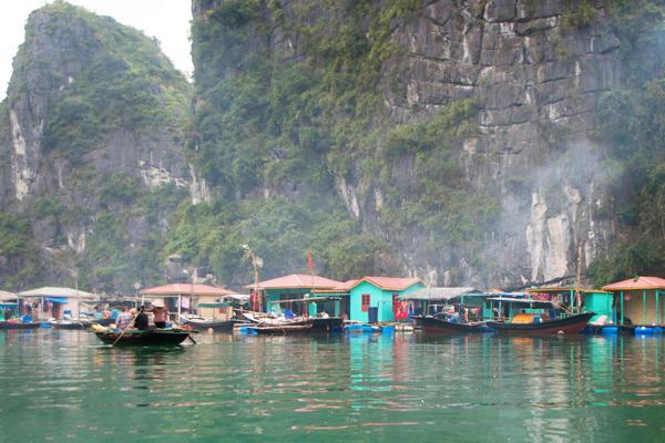 Vung Vieng floating fishing village