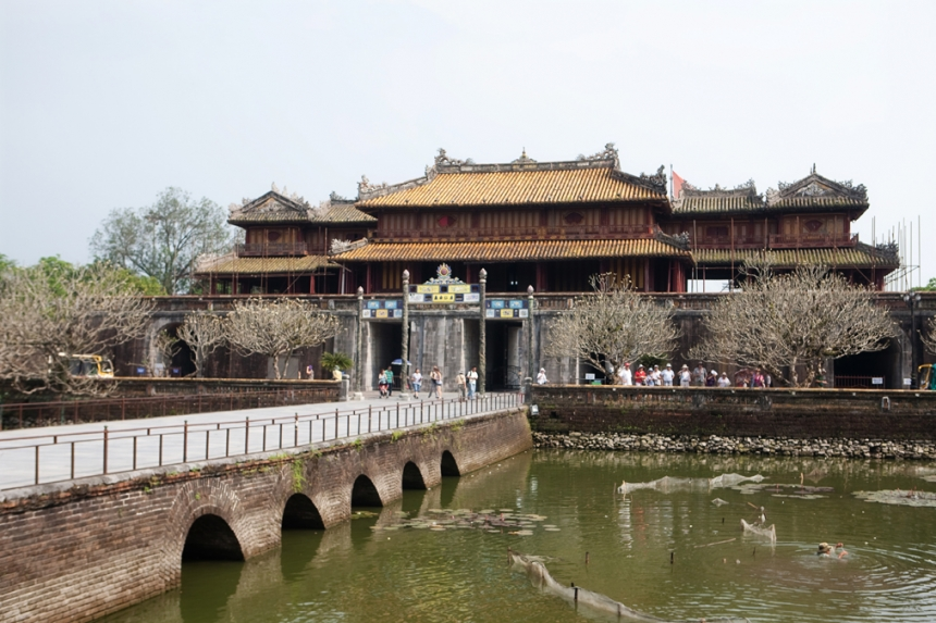 The Imperial City at Hue, Vietnam