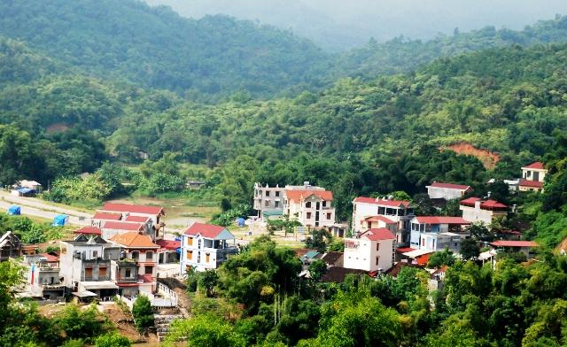 A corner of Cho Ra town