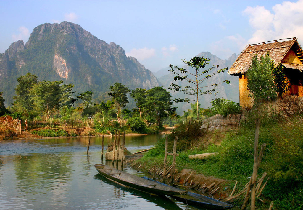 A picture of beautiful natural in Laos