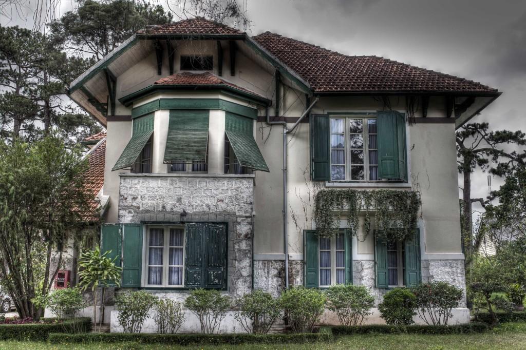 An old villa in French Quater, Dalat