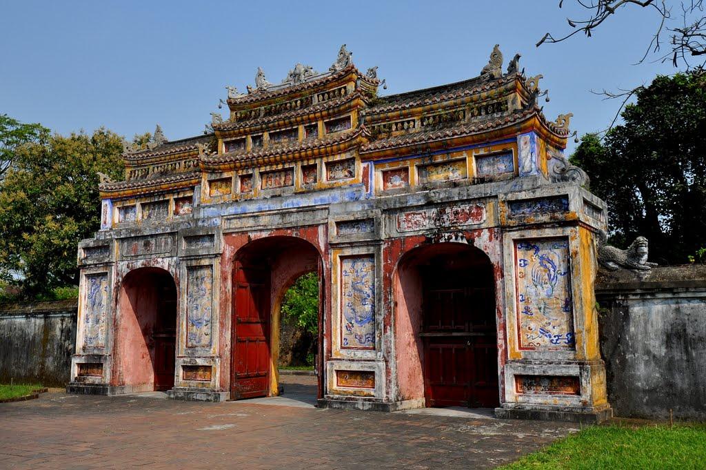 Arch in Hue, Vietnam