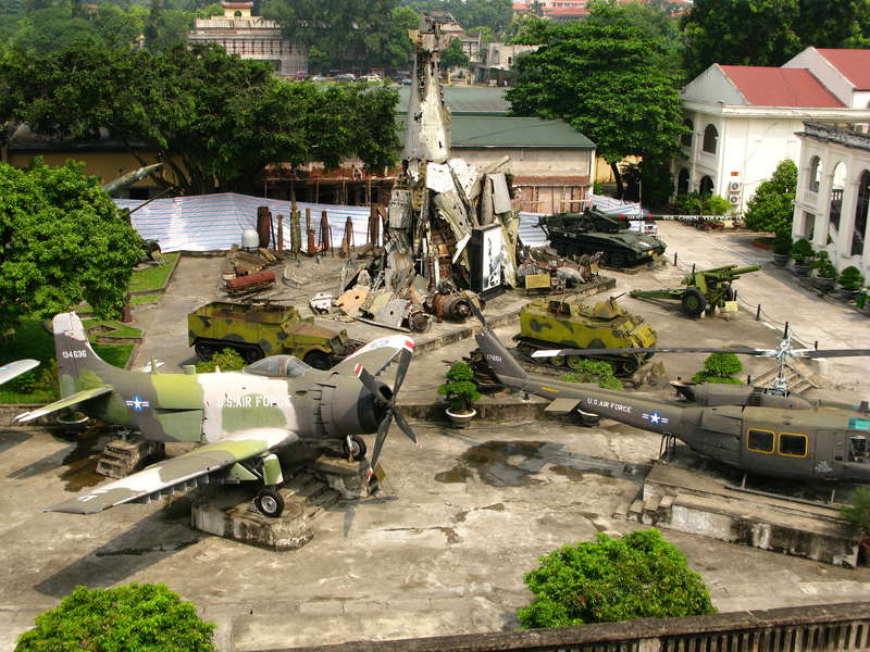 Army Museum in Ba Dinh district, Hanoi