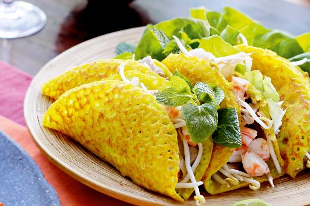 Banh Xeo( Crispy Pancake)