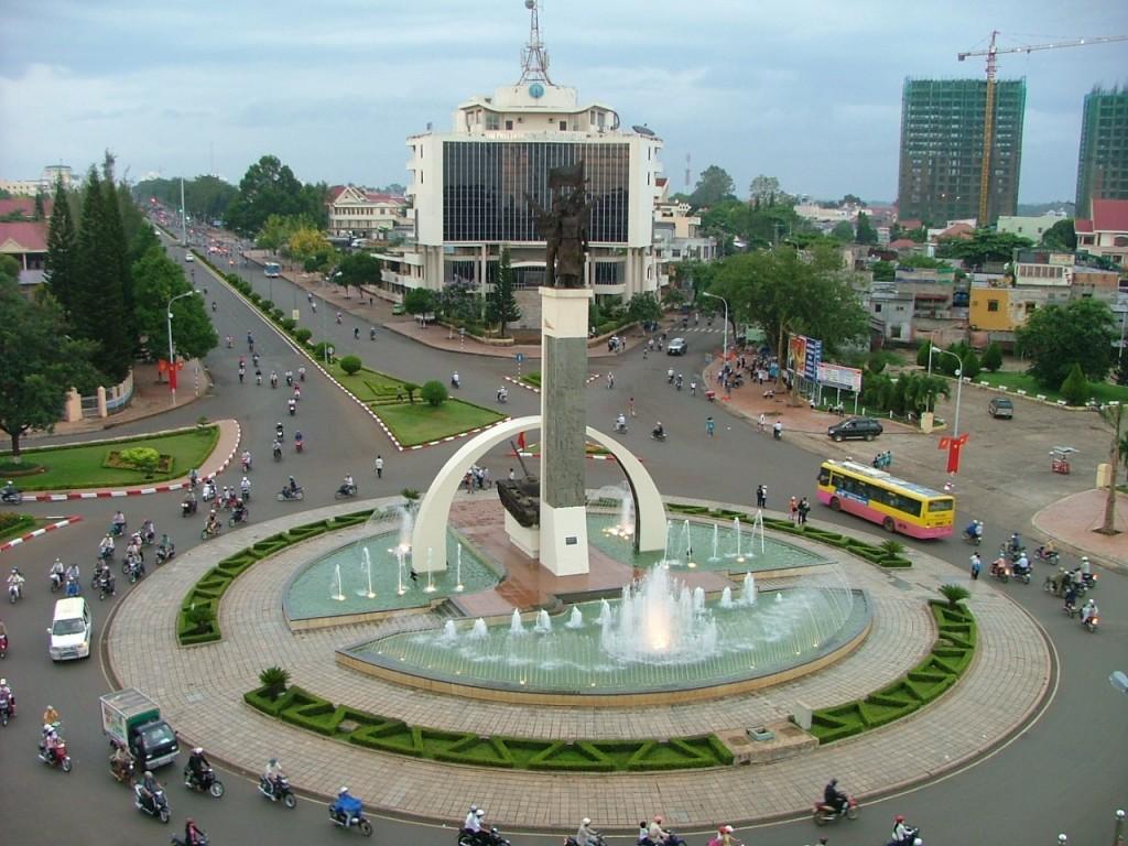 Beauty of Buon Ma Thuot city, Dak Lak Province