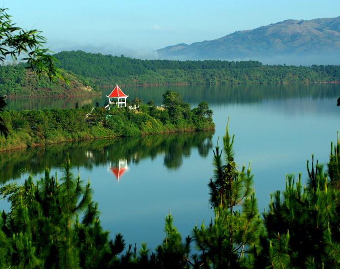 Bien Ho Lake in Pleiku Gia Lai province, Vietnam