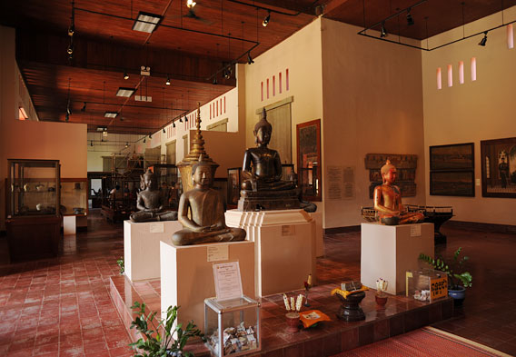 Buddhas in National Msueum, Phnom Penh