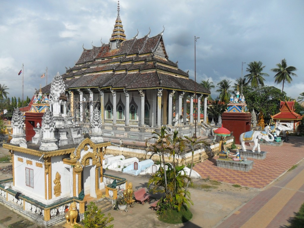 Buddhist temple in Battambang, Cambodia