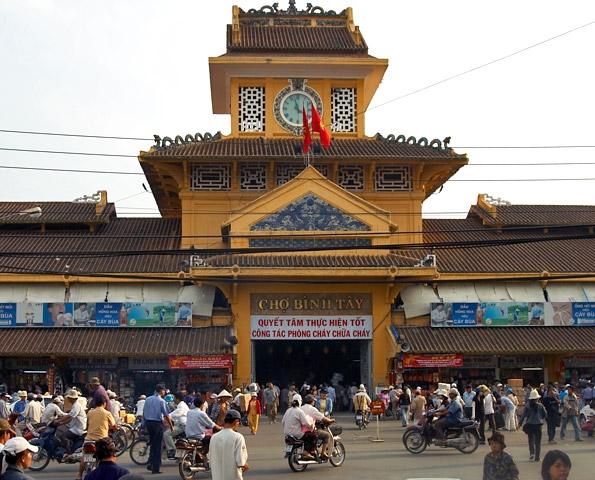 Cholon in Ho Chi MInh city