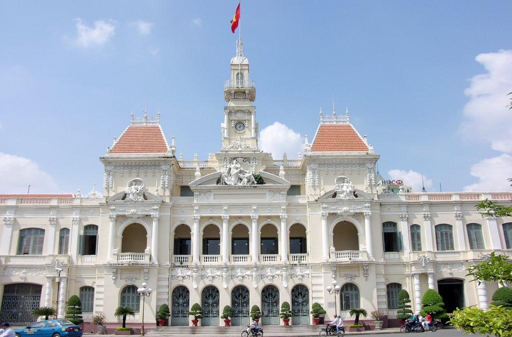 City Hall in Ho Chi Minh city, Vietnam