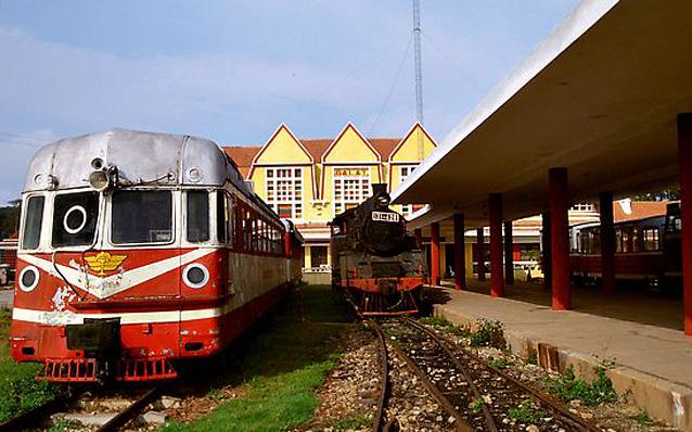 Dalat Old Railway Station