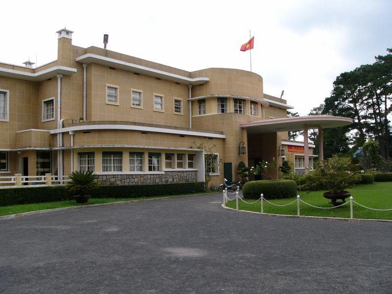 Emperor Bao Dai's Summer Palace in Dalat, Vietnam