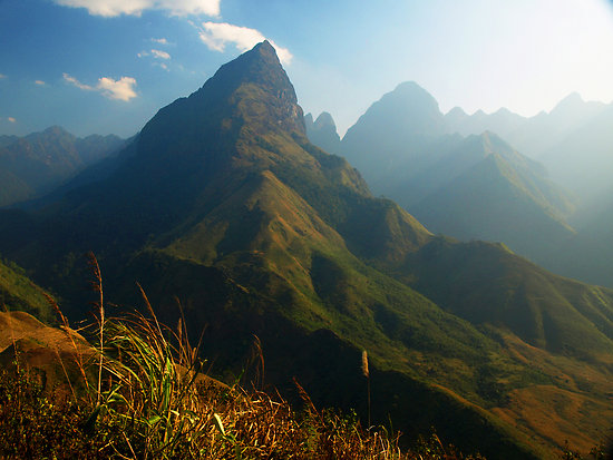 Fansipan, highest peak in Vietnam