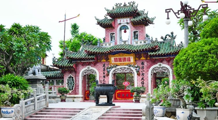 Fukian Assembly Hall (Phuc Kien) in Hoi An, Vietnam