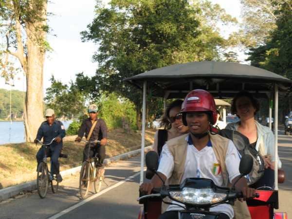 Getting Around Siem Reap by tuk-tuk