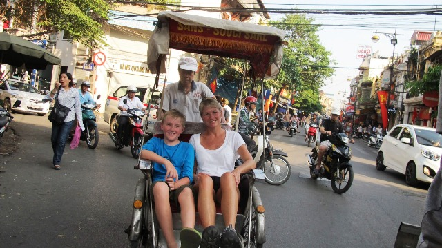 Getting Around in Nha Trang by Cyclo