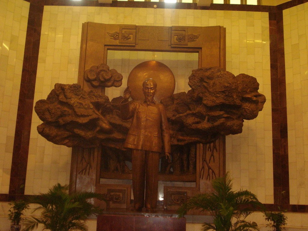 President Ho Statue in Ho Chi Minh Museum