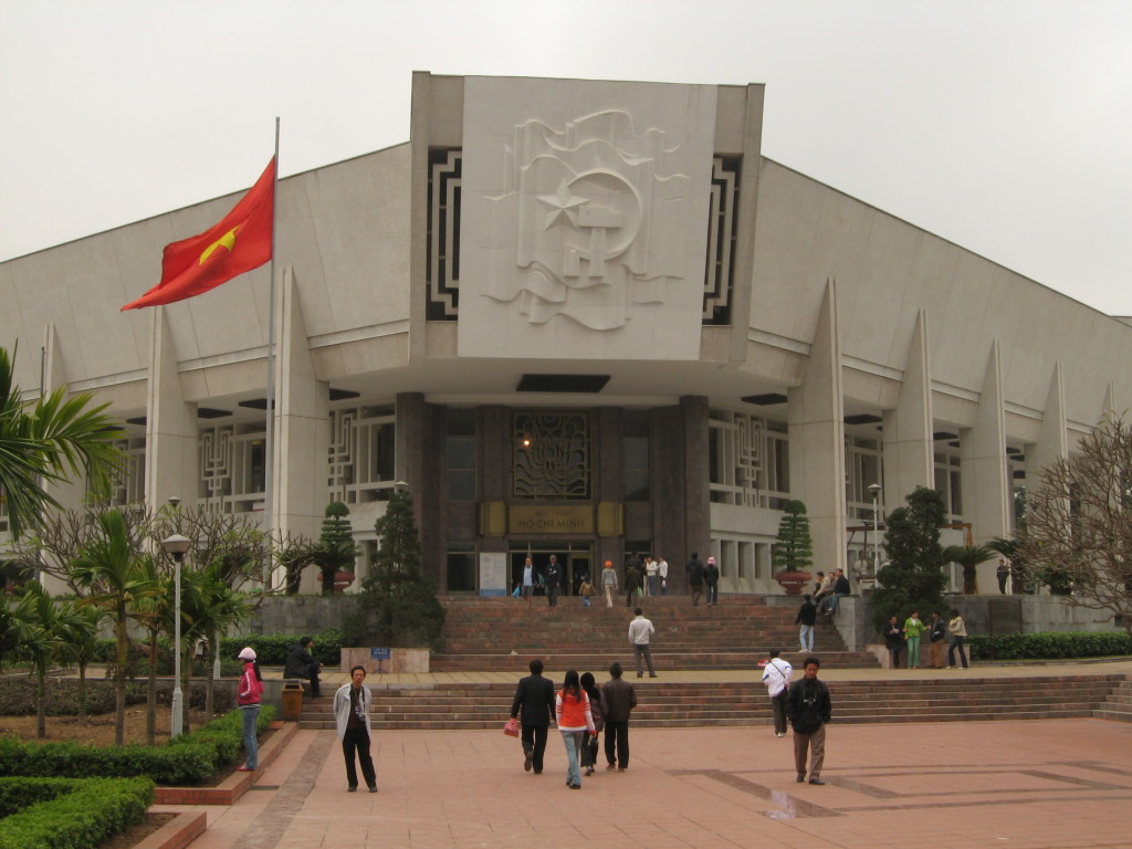 Ho Chi Minh museum in Ba Dinh district, Hanoi, Vietnam