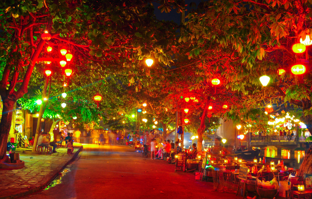 Hoi An Ancient Town in Cental coast of Vietnam