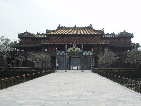 Imperial City at Hue, Vietnam