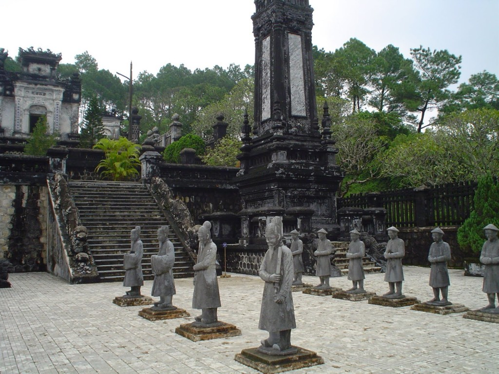 The Imperial Tombs of Hue, Vietnam