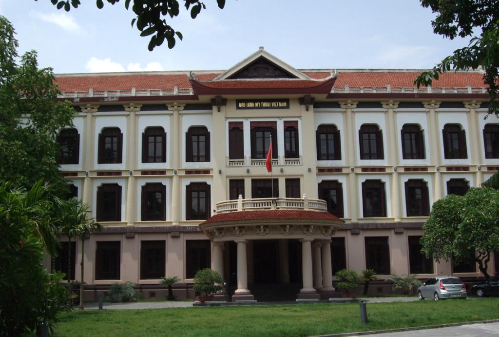Vietnam National Museum of Fine Arts in Ha Noi