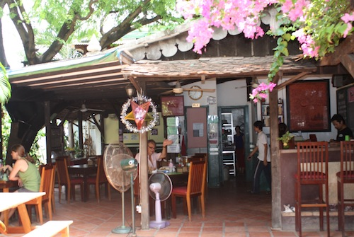 Ivy bar and restaurants in SIem Reap, Cambodia
