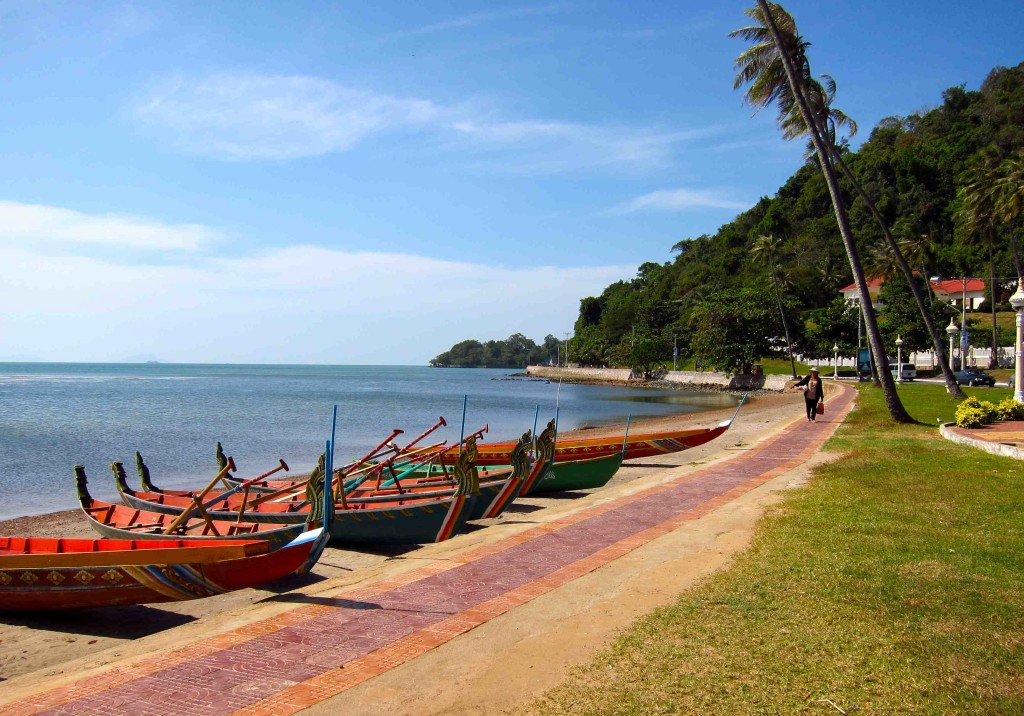 Kep, a coastal town and former destination for the rich and famous in Cambodia