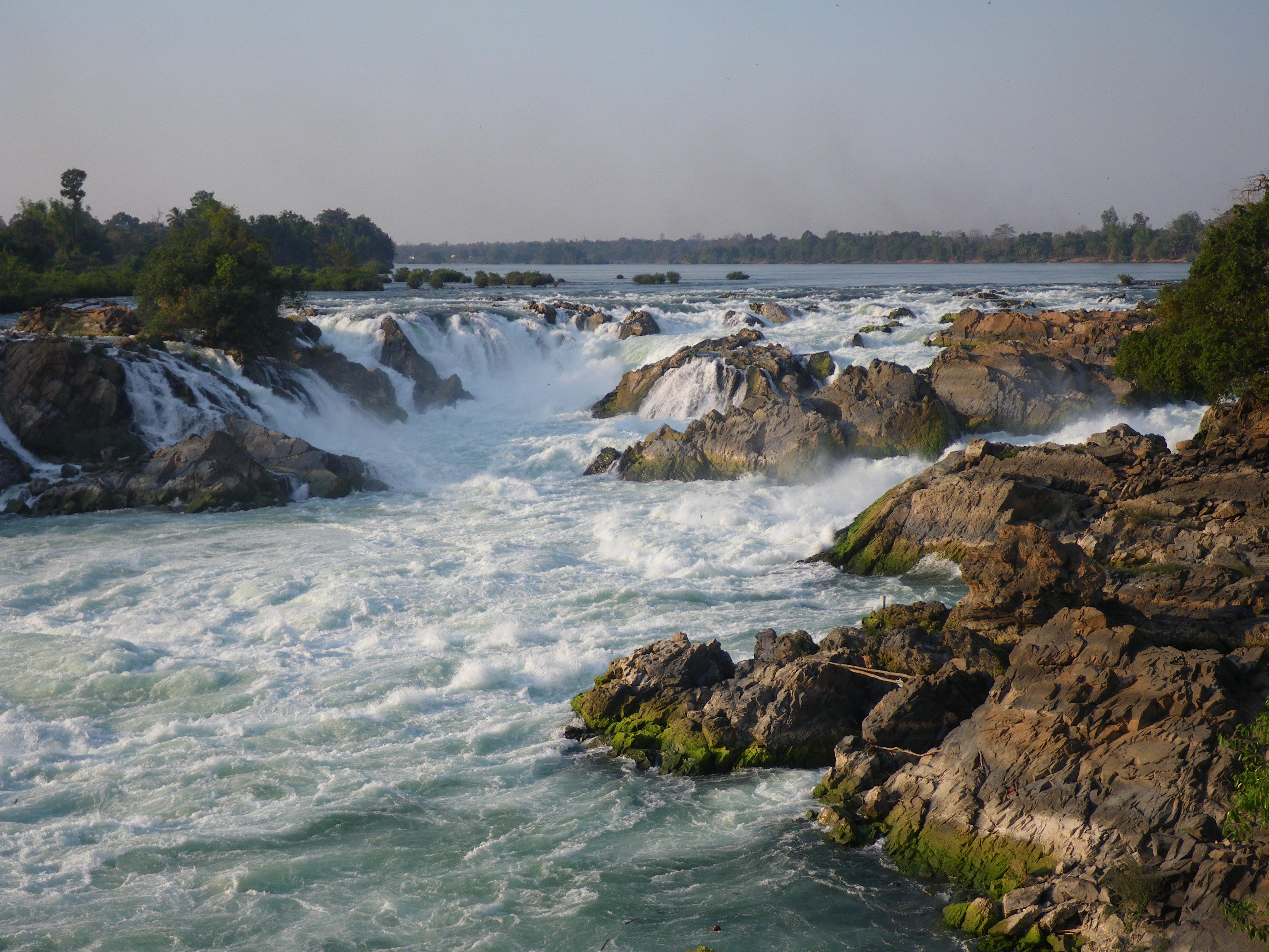 Ban Khon Laos  city photos : Khone Phapheng Falls in Laos