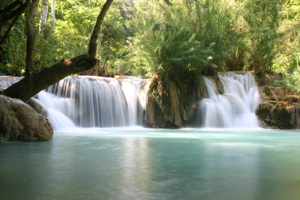 Kwang Xi Waterfall in Laos
