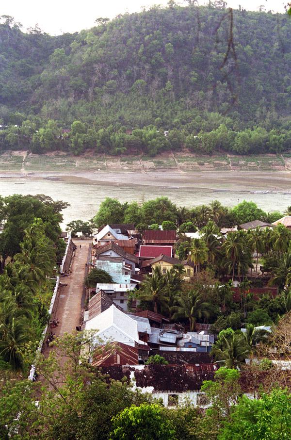 Luang Prabang on the banks of the Mekong River, Laos