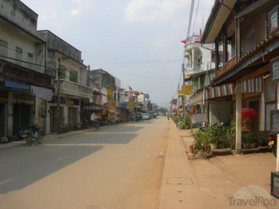 Mainstreet in Huay Xai, Laos