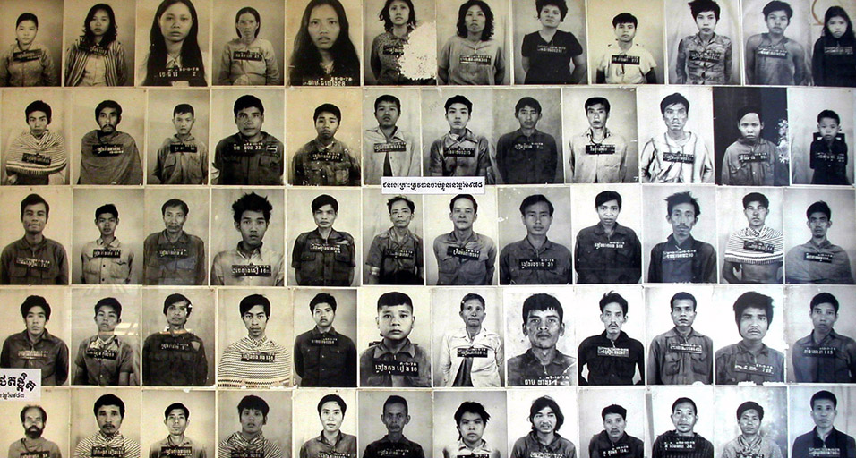 Meticulous records were kept of the Victims Toul Sleng S21 detention center