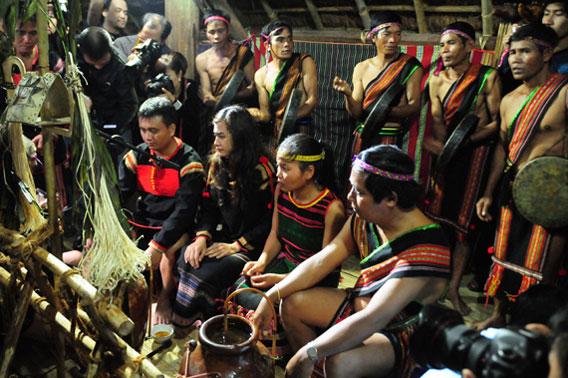 Mnong people in Vietnam