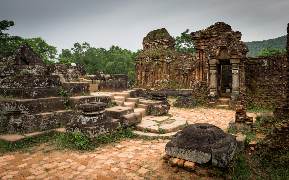 My Son Sanctuary, site of ancient Hindu temples constructed by the kings of Champa