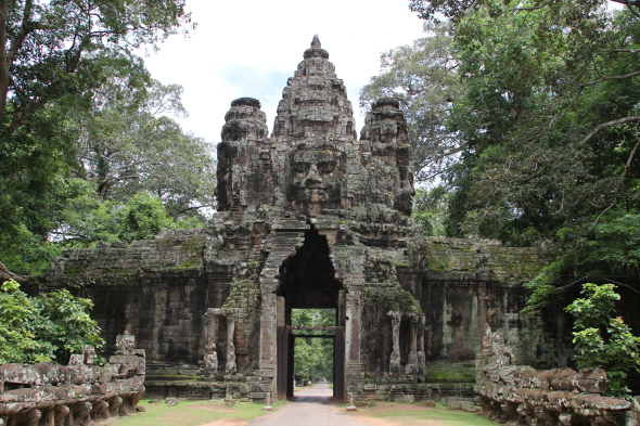 Preah Khan, The mystique temple in Siem Reap