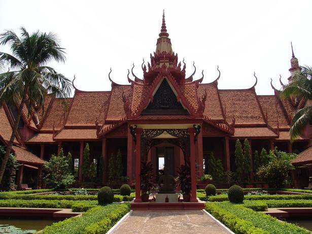 National Museum in Phnom Penh, Cambodia